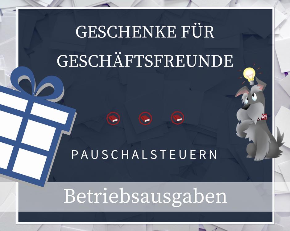 Buchhalterseele Geschenke Betriebsausgaben