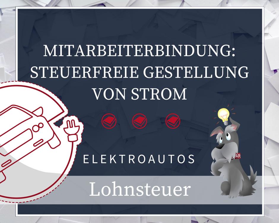Gestellung von Strom für Elektrofahrzeuge
