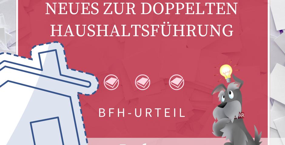 BHS Doppelte Haushaltsführung Werbekosten