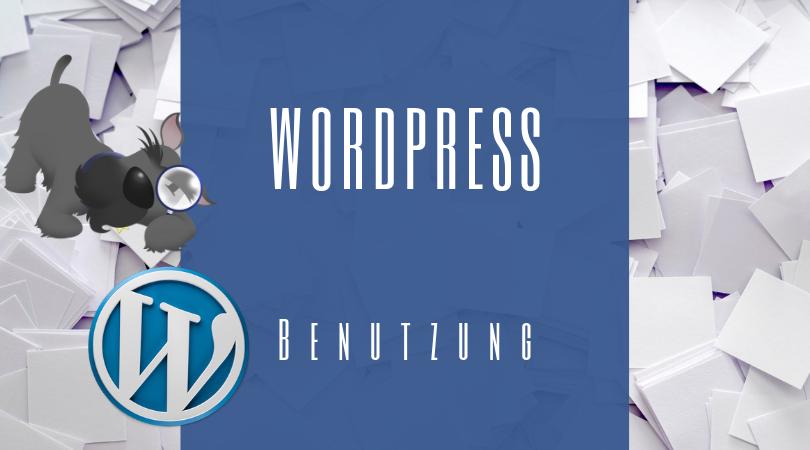 Buchhalterseele Blog Wordpress Benutzen