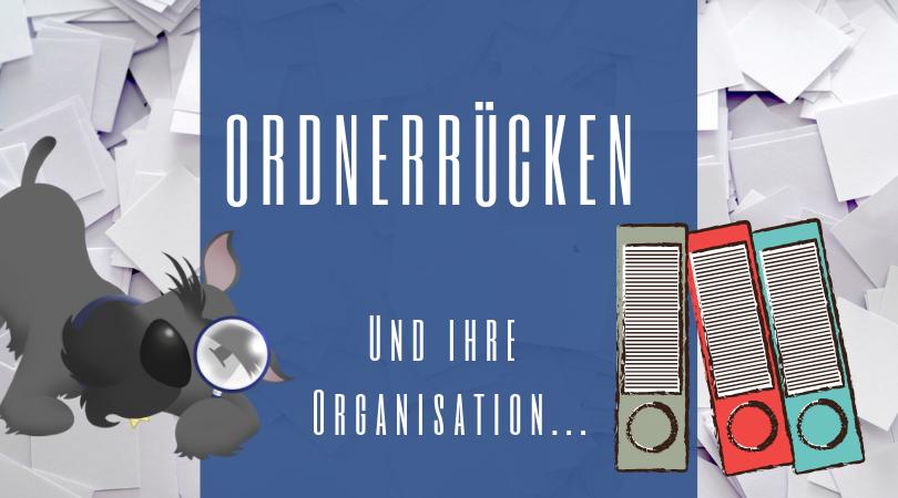 Buchhalterseele Blog Ordnerrücken Und Ihre Organisation