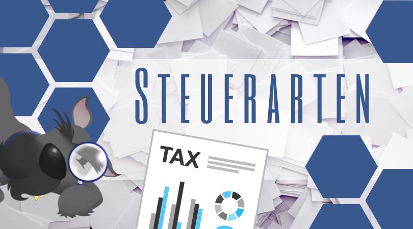 Buchhalterseele Blog Steuerarten