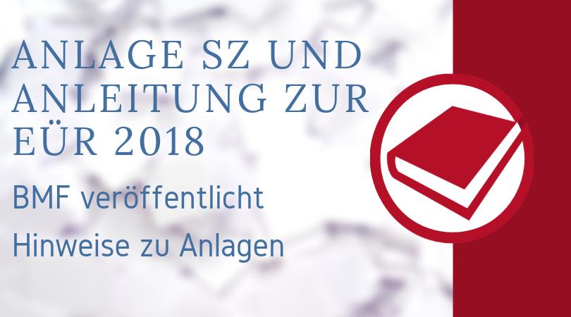 Buchhalterseele Blog Nachrichten Anlage EÜR 2018