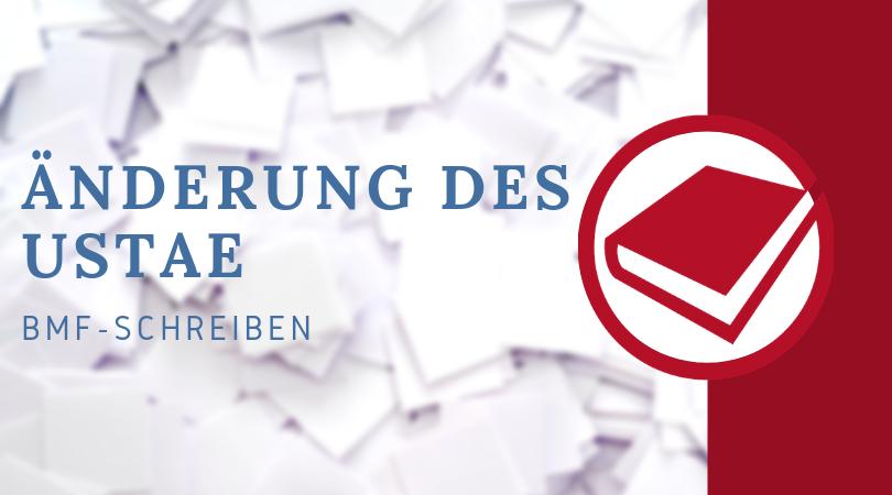 Buchhalterseele Blog Nachrichten Änderung Des UStAE