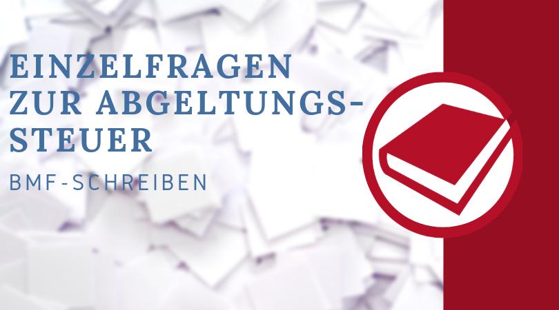 Buchhalterseele Blog Nachrichten Einzelfragen Zur Abgeltungssteuer(1)
