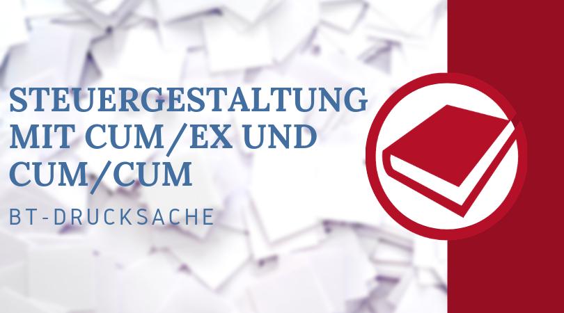 Buchhalterseele Blog Nachrichten Steuergestaltung Mit Cum Ex Und Cum Cum