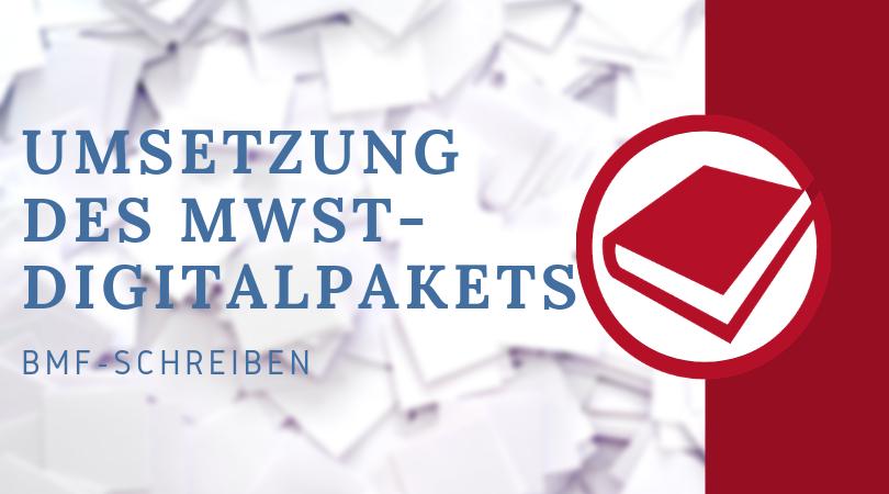 Buchhalterseele Blog Nachrichten Umsetzung Des MwSt Digitalpakets
