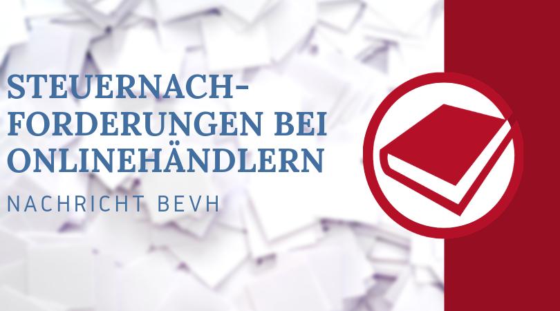 Buchhalterseele Blog Steuernachforderungen Bei Onlinehändlern