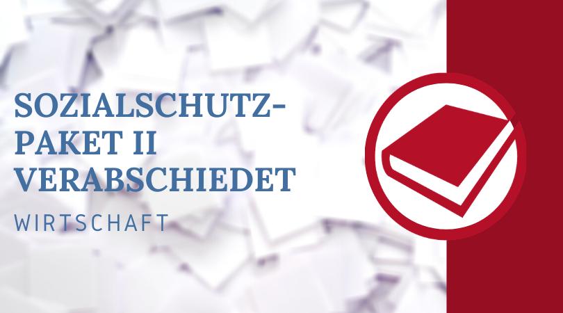 Buchhalterseele Blog Solzialschutz Paket II Verabschiedet