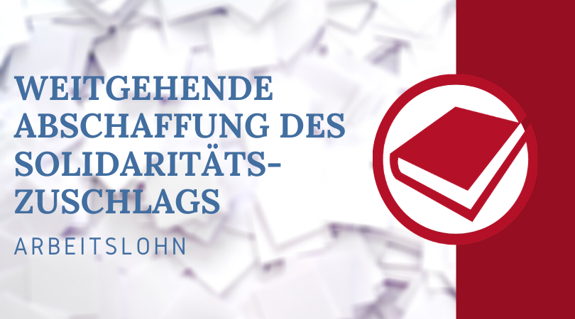 Buchhalterseele Blog Weitgehende Abschaffung Des Solidaritätszuschlags